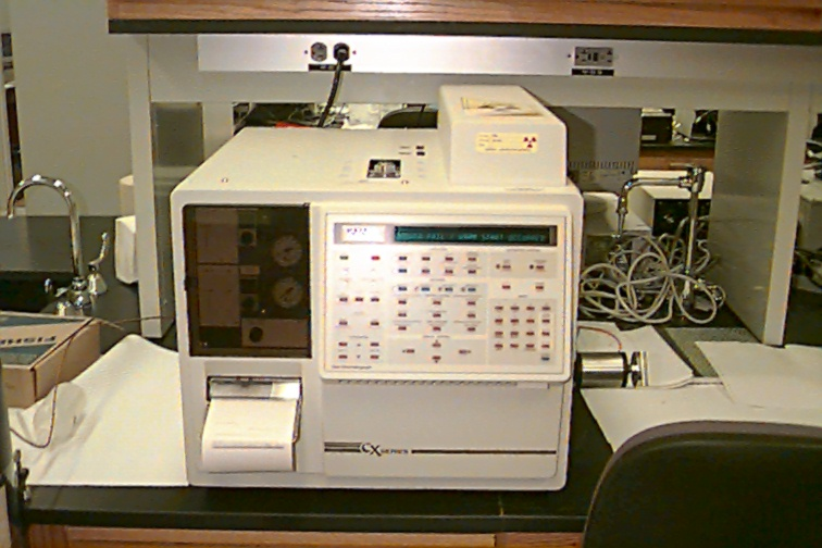 3400 series gas chromatograph