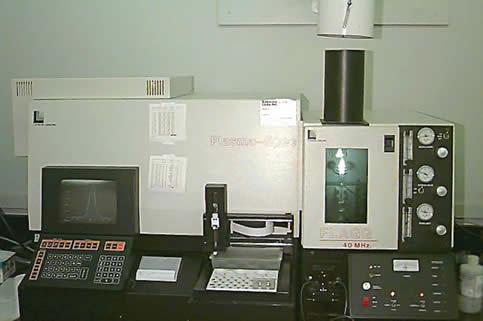 Leeman Plasma III Inductively Coupled Plasma Spectrometer